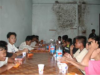 school eating