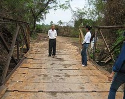 New Bridge at Simmano Village