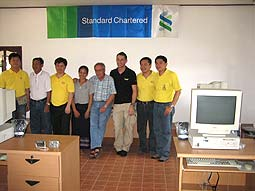 Standard Chartered Bank, Bangkok, IT team