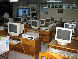 IT lab classroom