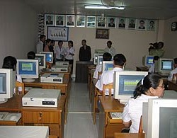 Health department computer classroom