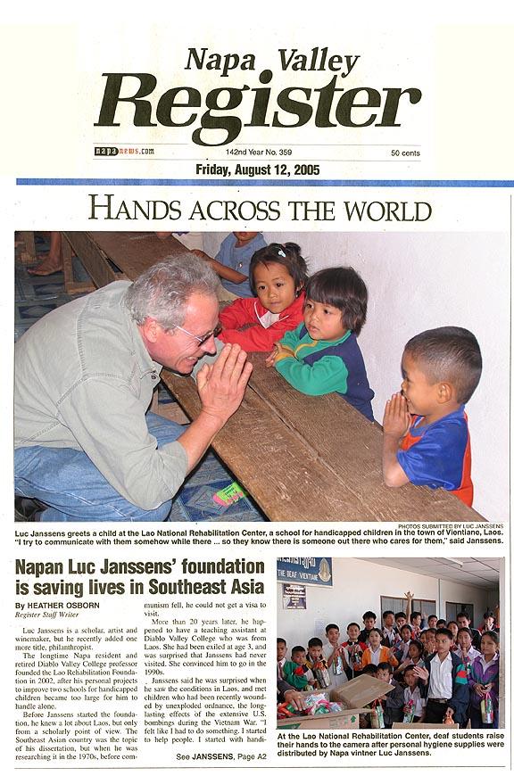 Napa Valley Register - August 2005