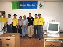 Standard Chartered Bank, Bangkok, IT team