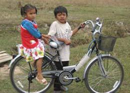 Khaehk's new bicycle