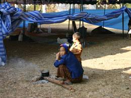 Mittaphab tent city