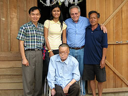 Visiting Pheng