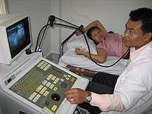 Ultrasound diagnostic machine