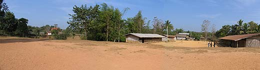 The site where we hope to build the new school.