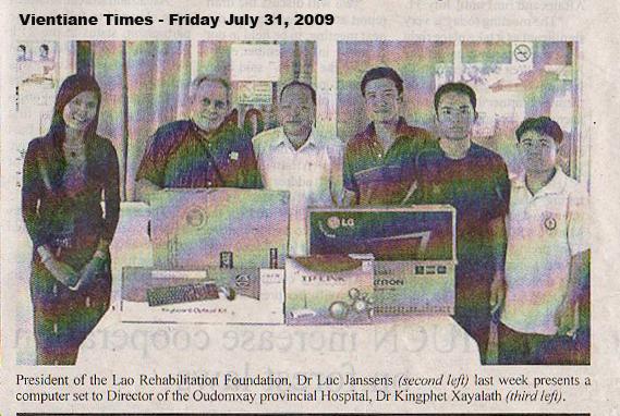 Vientiane Times - July 2009